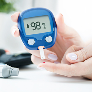 Controlled Blood Sugar Levels
