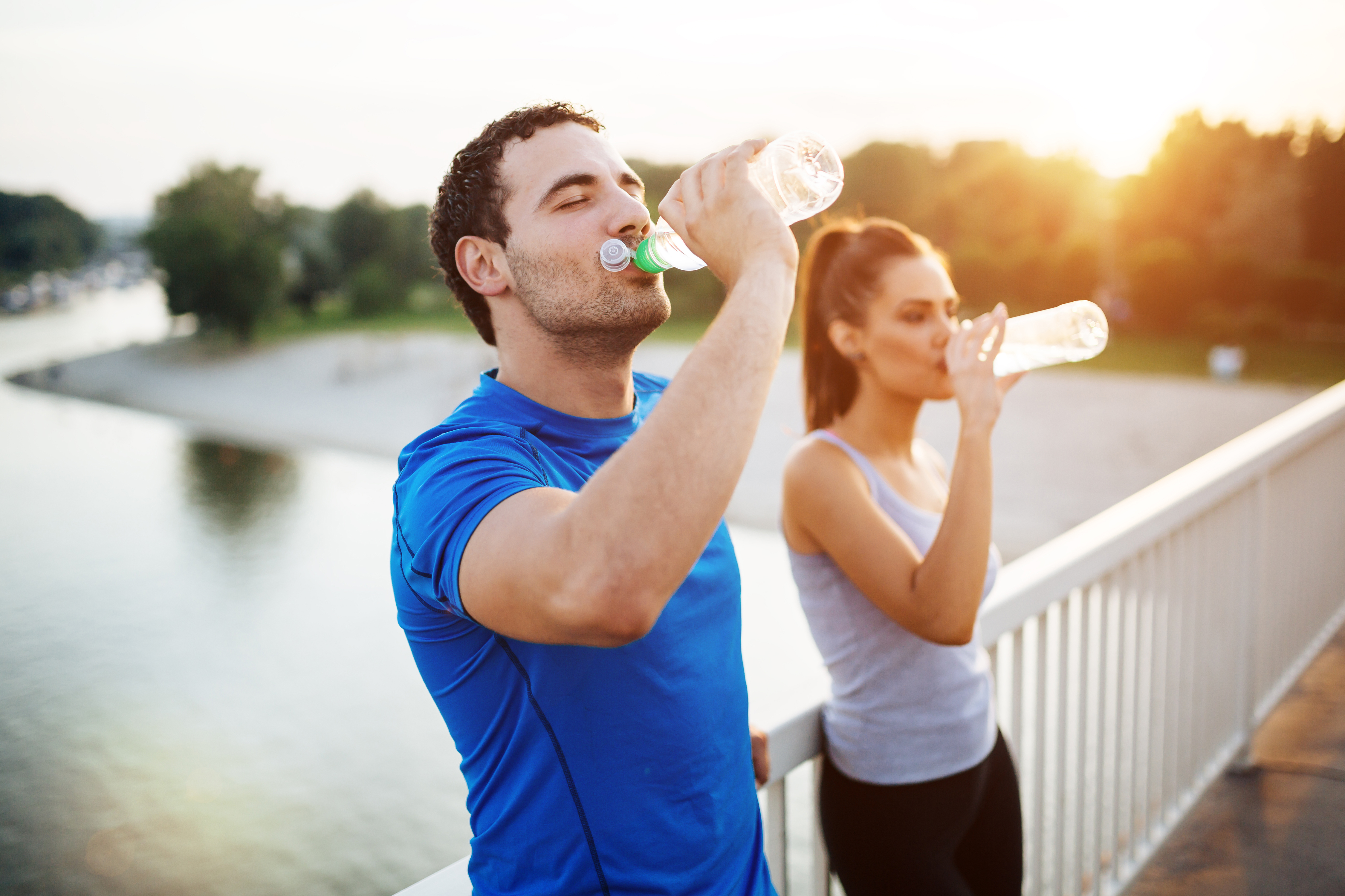 Hydration during summer